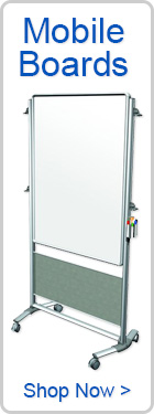 Mobile Boards and Whiteboard Room Dividers