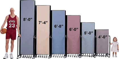 Room Divider Heights
