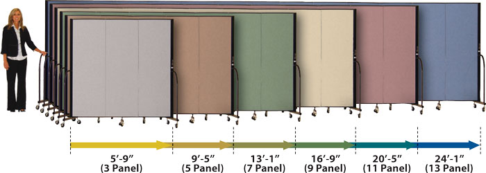 Room Divider Lengths