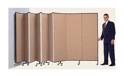 Wall Mounted Room Divider