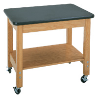 Mobile Lab Cart with Single Shelf