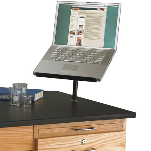Table-Mounted Laptop Stand