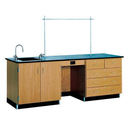 Teachers Science Table Workstation (8 feet long)