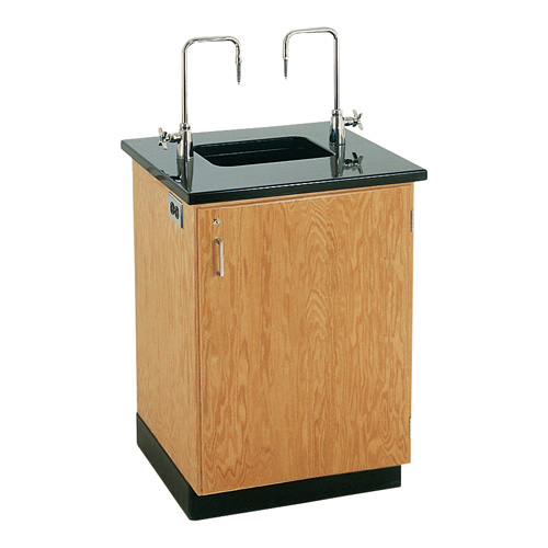 Lab Sink : Diversified Woodcrafts Science Lab Wash Station with Sink & Fixtures