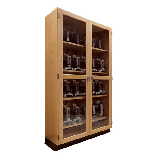 Microscope and Lab Equipment Storage Case