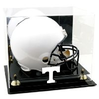 Golden Classic Helmet Display Case with NCAA Logo