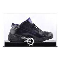 Basketball Shoe Display Case with NBA Team Logo