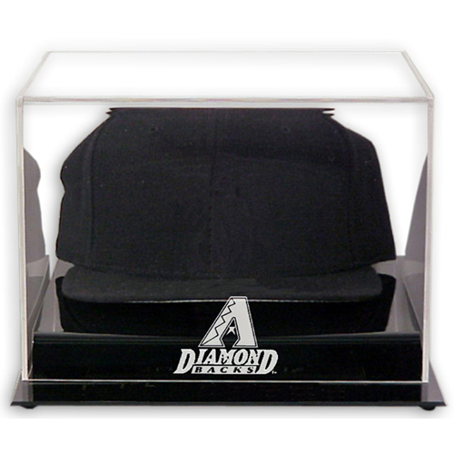 Acrylic Cap Display Case with MLB Team Logo
