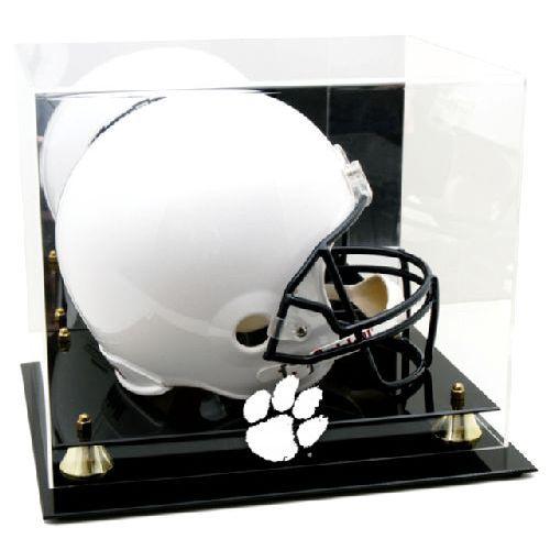 Golden Classic Helmet Display Case with NCAA Logo