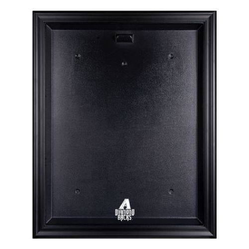 Black Framed Jersey Display Case with MLB Team Logo