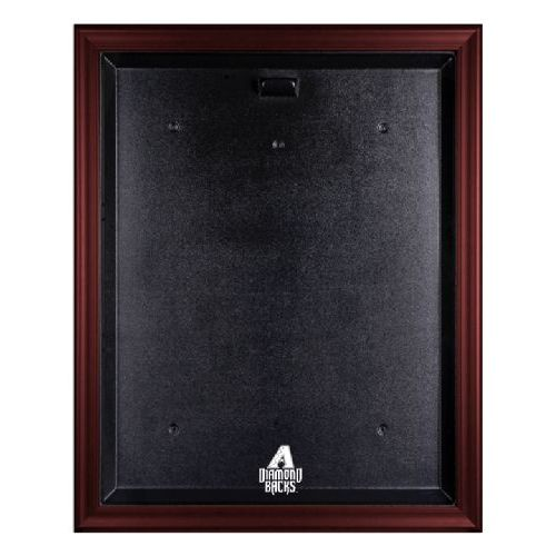 Mahogany Framed Jersey Display Case with MLB Team Logo
