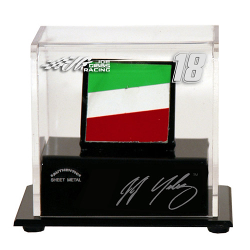 Dispncsmx8 Nascar Used Sheet Metal Display Case With Logo