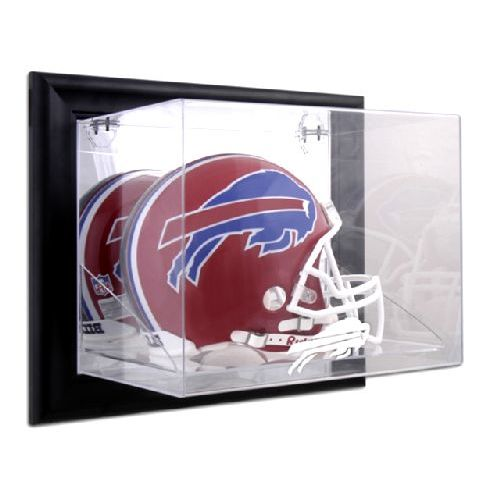 Dispuhbill Black Framed Wall Mounted Football Helmet