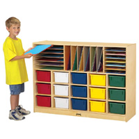 Sectional Mobile Cubby
