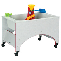 Rainbow Accents™ Space Saver Sensory Table
