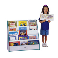 Rainbow Accents™ Flushback Pick-a-Book Stand