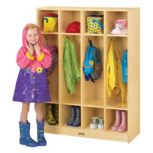 Coat Locker - 4 Sections