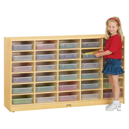 Paper-Tray Cubbies