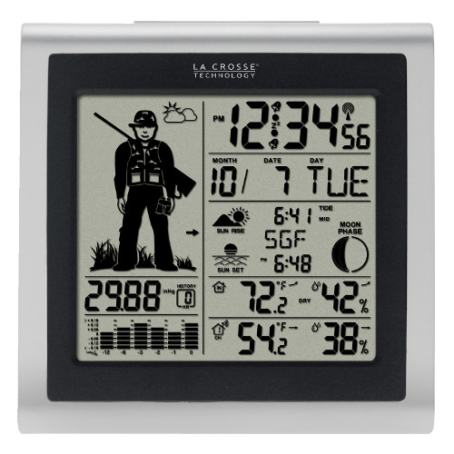 308-1451H Hunter Weather Station with Forecast and Outdoor Temperature