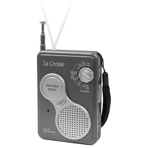 809-905 AM / FM Handheld Weather Radio