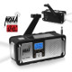 AM/FM/WB NOAA Weather Radio with Hand Crank, LED Flashlight, and USB Charging