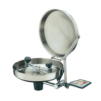 Wall Mounted Eyewash - Stainless Steel Bowl