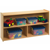Value Line Toddler/Preschool 2-Shelf Storage