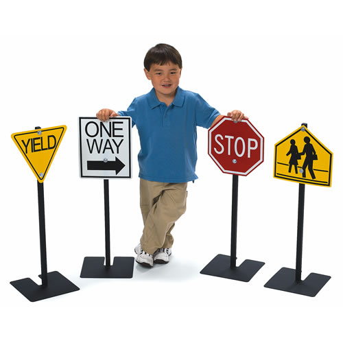 Traffic Signs - Set of Four