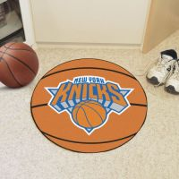 New York Knicks Basketball Mat - 29 Diameter