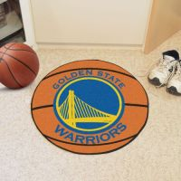 Golden State Warriors Basketball Mat - 29 Diameter