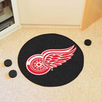 Detroit Red Wings Puck Mat - 29 Diameter