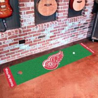 Detroit Red Wings Putting Green Mat - 18 x 72