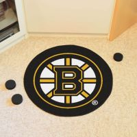 Boston Bruins Puck Mat - 29 Diameter