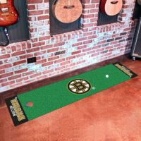 Boston Bruins Putting Green Mat - 18 x 72