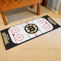 Boston Bruins Rink Runner - 30 x 72