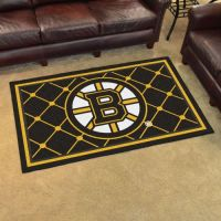 Boston Bruins Rug - 4 x 6