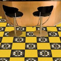 Boston Bruins Carpet Tiles - 18 x 18 Tiles