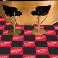 Detroit Red Wings Carpet Tiles - 18 x 18 Tiles