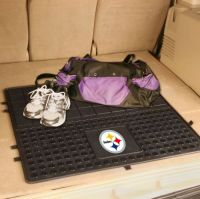Pittsburgh Steelers Heavy Duty Vinyl Cargo Mat - 31 x 31
