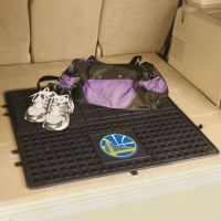 Golden State Warriors Heavy Duty Vinyl Cargo Mat - 31 x 31
