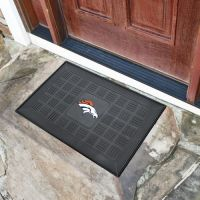 Denver Broncos Medallion Door Mat - 20 x 30
