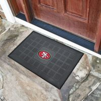 San Francisco 49ers Medallion Door Mat - 20 x 30