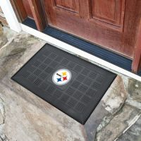Pittsburgh Steelers Medallion Door Mat - 20 x 30