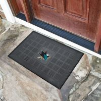 NHL Medallion Door Mat