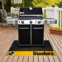 Officially Licensed Grill Mats - 26 x 42 - NFL - Pittsburgh Steelers