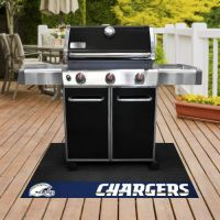 Officially Licensed Grill Mats - 26 x 42 - NFL - San Diego Chargers