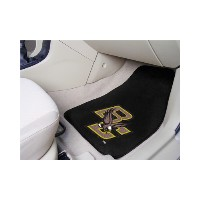 NCAA 2-PC Printed Carpet Car Mat Set