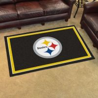 Pittsburgh Steelers Rug - 4 x 6