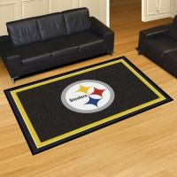 Pittsburgh Steelers Rug - 5 x 8