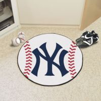 New York Yankees Baseball Mat - 29 Diameter